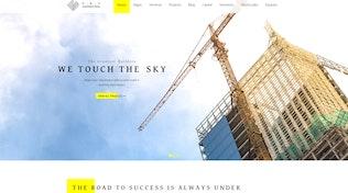 Konstruktion - Responsive Construction Thema