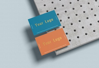 Thumbnail for 3 Psd Business Card Mockup