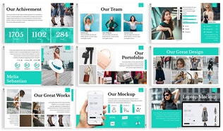 Thumbnail for A-Gaya - Fashion Powerpoint Template