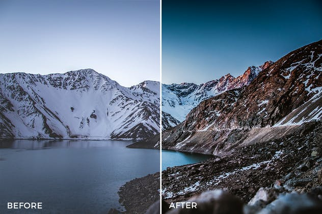 Landscape Lightroom Presets