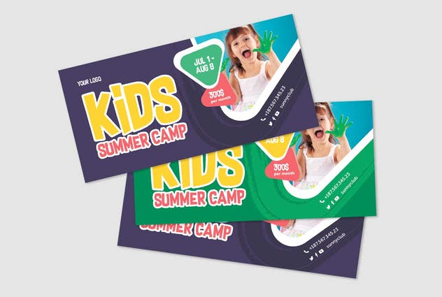Kids Camp Poster+Flyer