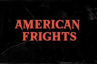 Thumbnail for American Frights - Horror Serif Font