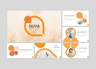 Thumbnail for Quva - Power Point Template