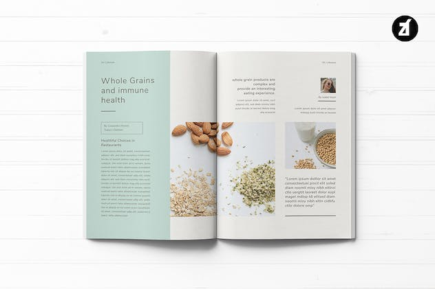 Healthy Lifestyle Magazine - product preview 2