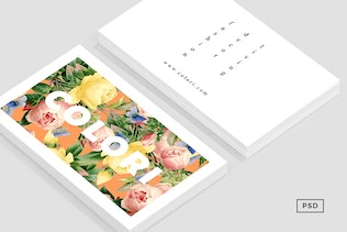 Thumbnail for Flora Business Card Template