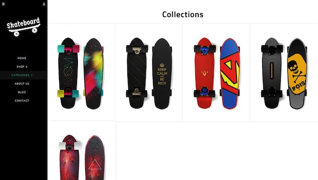 Skate board - Fullscreen Sports Shopify Theme - product preview 4
