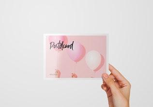 Thumbnail for A6 Flyer / Postcard Mockup