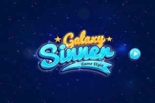 Миниатюра для Стили текста Логотип игры