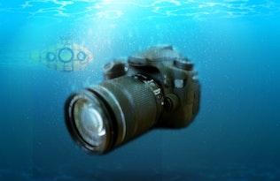 Миниатюра для Аквариум - Подводный Photoshop Action