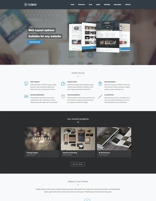 Thumbnail for Slowave - Multipurpose Responsive HTML5 Template