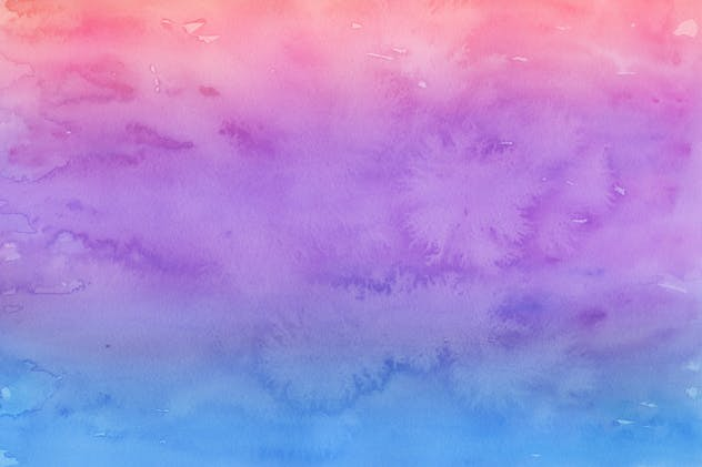 Handmade Watercolor Backgrounds Vol.17 - product preview 5