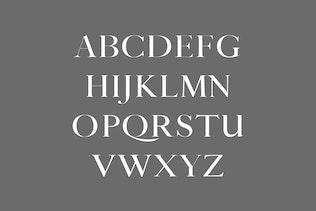 Miniatura para Thomas Craft A Moderno Con serifa Tipo de letra