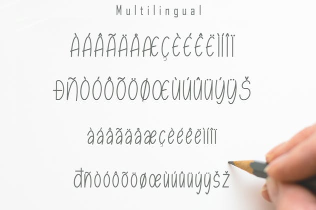 Esmonthy - Monoline Font - product preview 6