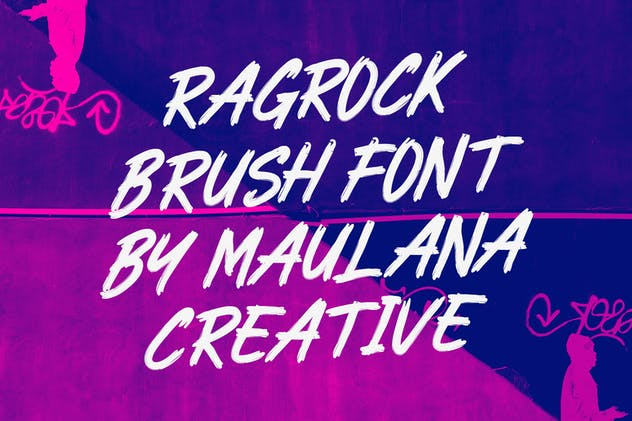 Ragrock Brush Font - product preview 1