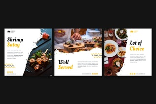 Thumbnail for Food & Beverage Instagram Post Template
