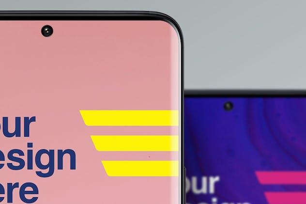 Smartphone Mockups - Front View