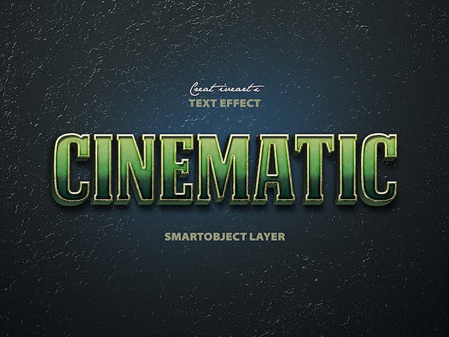 Cinematic 3D Text - product preview 4