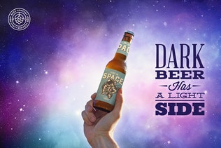 Thumbnail for Sky Backgrounds Beer Mockup
