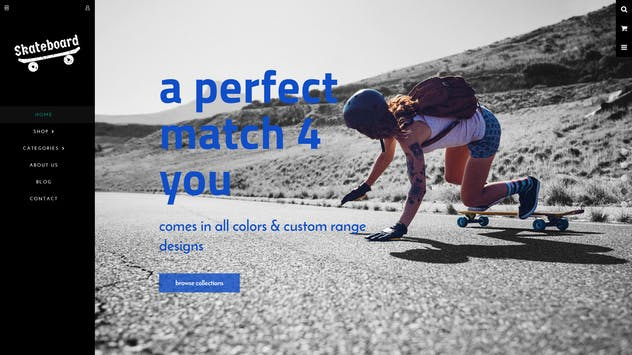 Skate board - Fullscreen Sports Shopify Theme - product preview 7