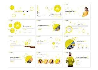 Thumbnail for creativeearn - PowerPoint template