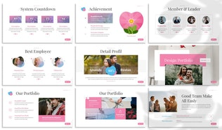 Thumbnail for Loveable - Dating Google Slides Template