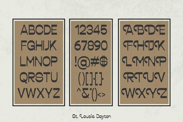 Lousie Dayton Font Sans Display - product preview 5