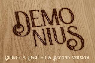 Miniatura para Demonius - 4 Fuentes Vintage