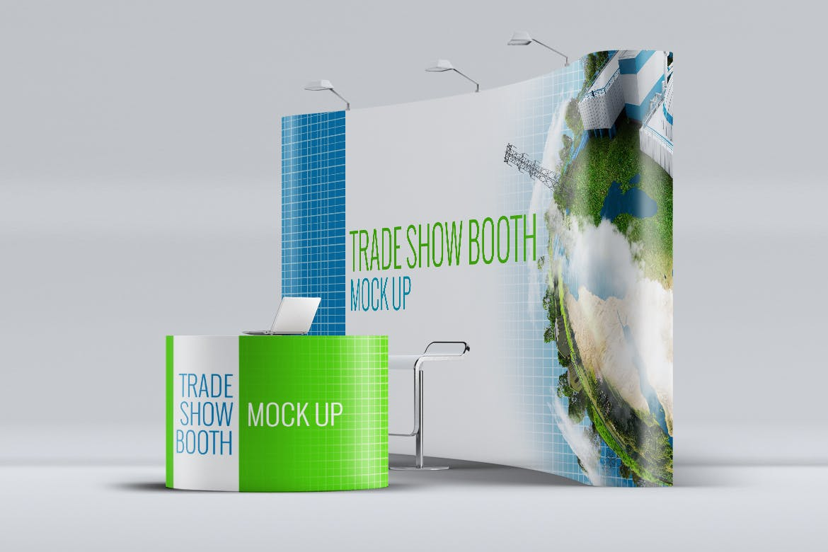 Trade Show Booth Mock-up by L5Design on Envato Elements