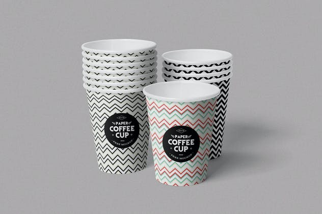 Paper Cup Mockups - product preview 1