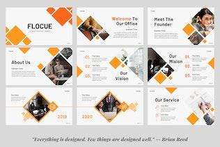 Презентация SWOT для бизнеса Flocue