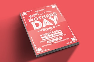 Thumbnail for Mothers Day Brunch Flyer Poster