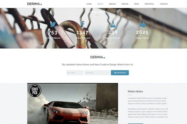 Derima - Multi-Purpose Muse Template - product preview 2