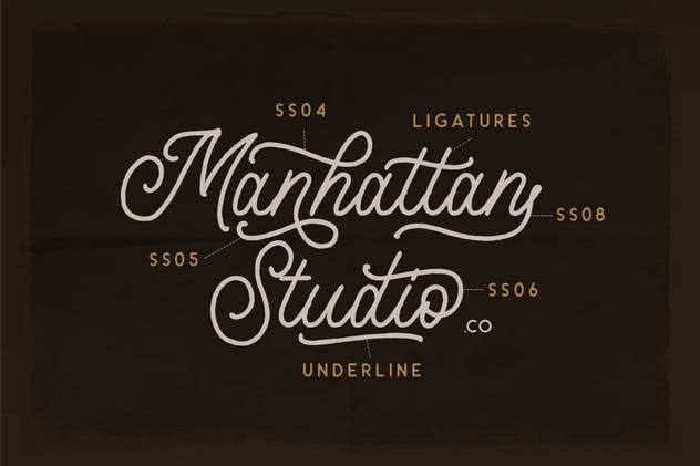Headley - Vintage Font Duo - product preview 5