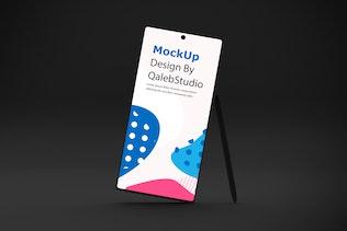 Dark Note 10 Mockup
