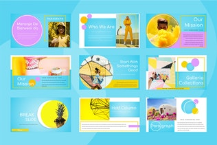 Thumbnail for Nicee - Colorful Powerpoint Presentation