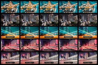 Thumbnail for 50 Urban City Lightroom Presets and LUTs