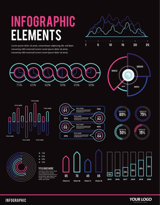 Infographic Examples for Designer V.48 - product preview 1