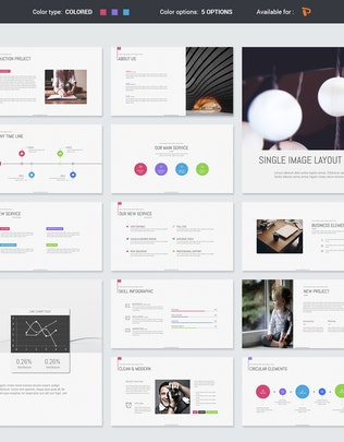 Thumbnail for Mango Simply Presentation Template