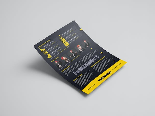 Modern DJ Press Kit / Resume / Rider Template - product preview 2