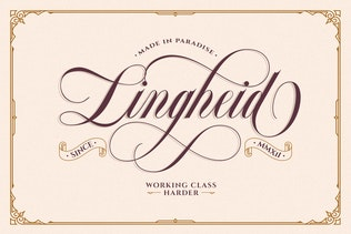 Thumbnail for Bordemile - Luxury Script