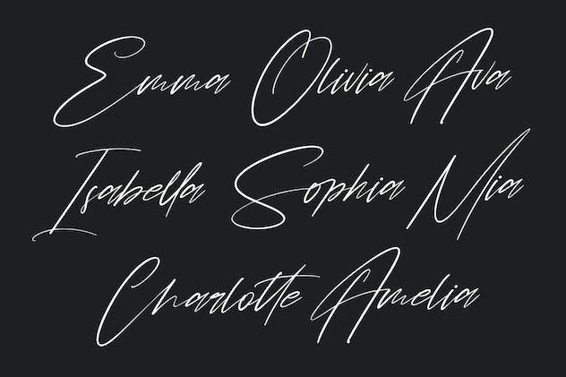 Chintia Slanted Script Brush Handmade Beauty Font - product preview 1