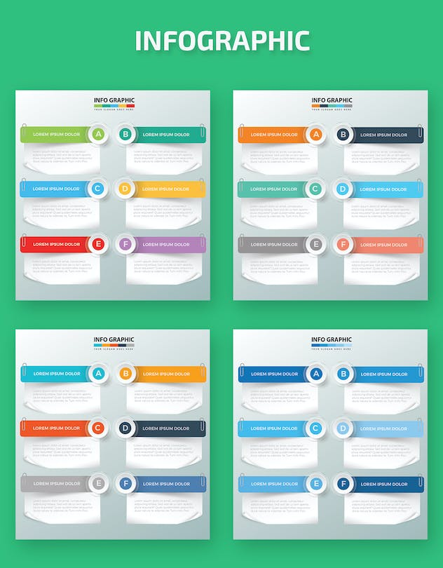 Paper Infographic Design - product preview 1