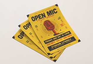 Thumbnail for Open Mic Flyer