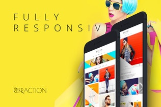 Thumbnail for Refraction — Creative Agency and Blog Template