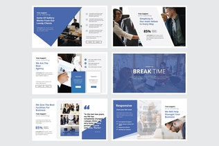 Thumbnail for EXCLUSIVE BUSINESS - Google Slide V330