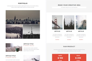 Thumbnail for Sentinel - Responsive Email + StampReady Builder