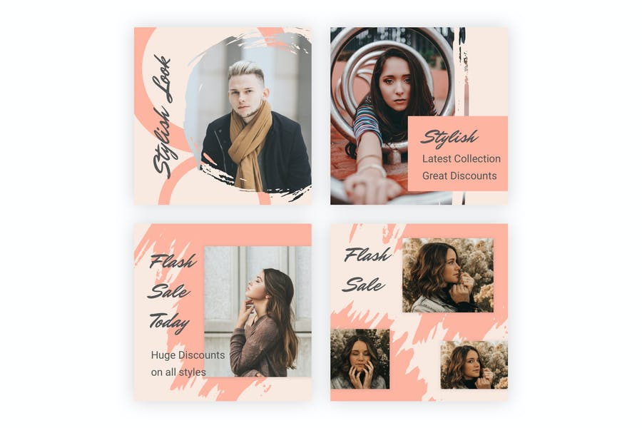 18 Social Media Banners Kit (Vol. 7) for Sketch - product preview 4