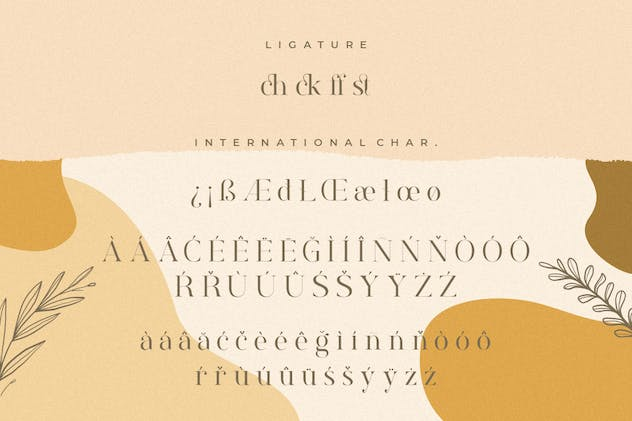 Rostemary Elegant Serif - product preview 1