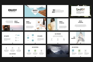 Thumbnail for Enjoy PowerPoint Template