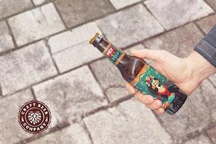 Thumbnail for Get Beer Bottle Mockup